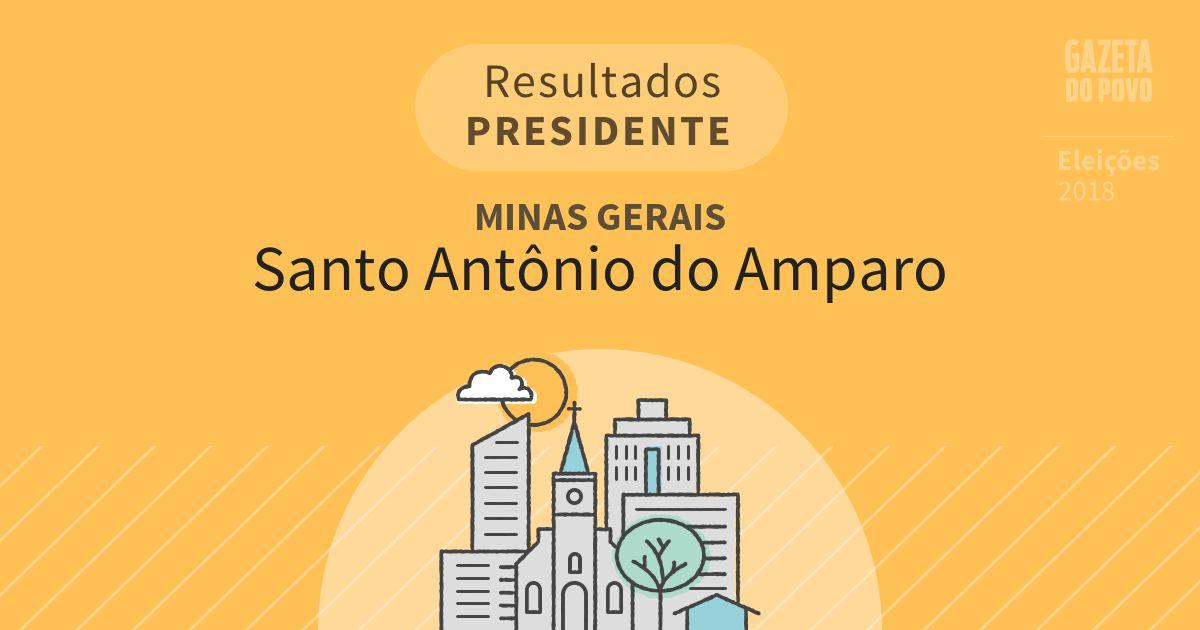 Resultados para Presidente em Minas Gerais em Santo Antônio do Amparo (MG)