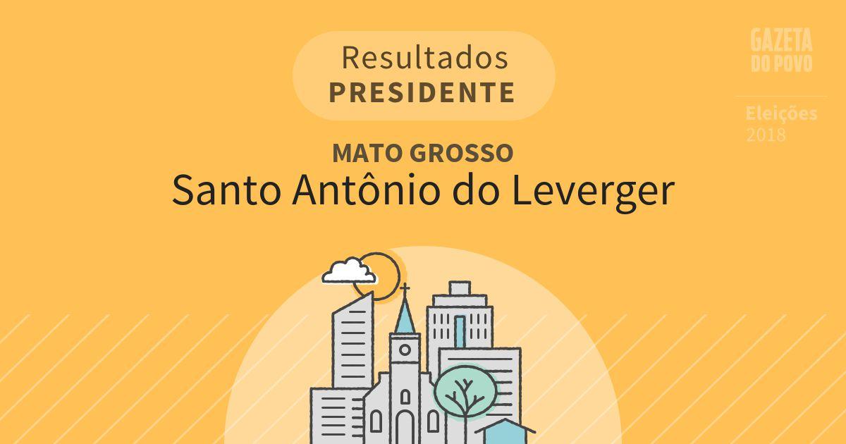 Resultados para Presidente no Mato Grosso em Santo Antônio do Leverger (MT)