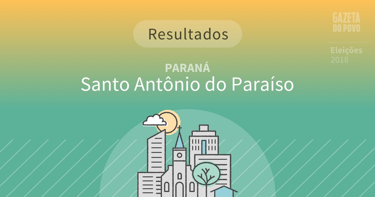Resultados da votação em Santo Antônio do Paraíso (PR)