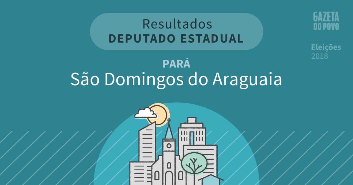 Resultados para Deputado Estadual no Pará em São Domingos do Araguaia (PA)