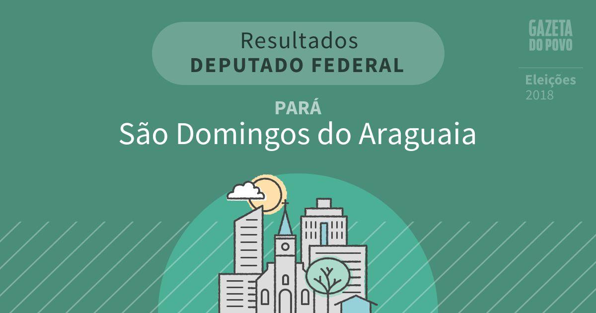 Resultados para Deputado Federal no Pará em São Domingos do Araguaia (PA)
