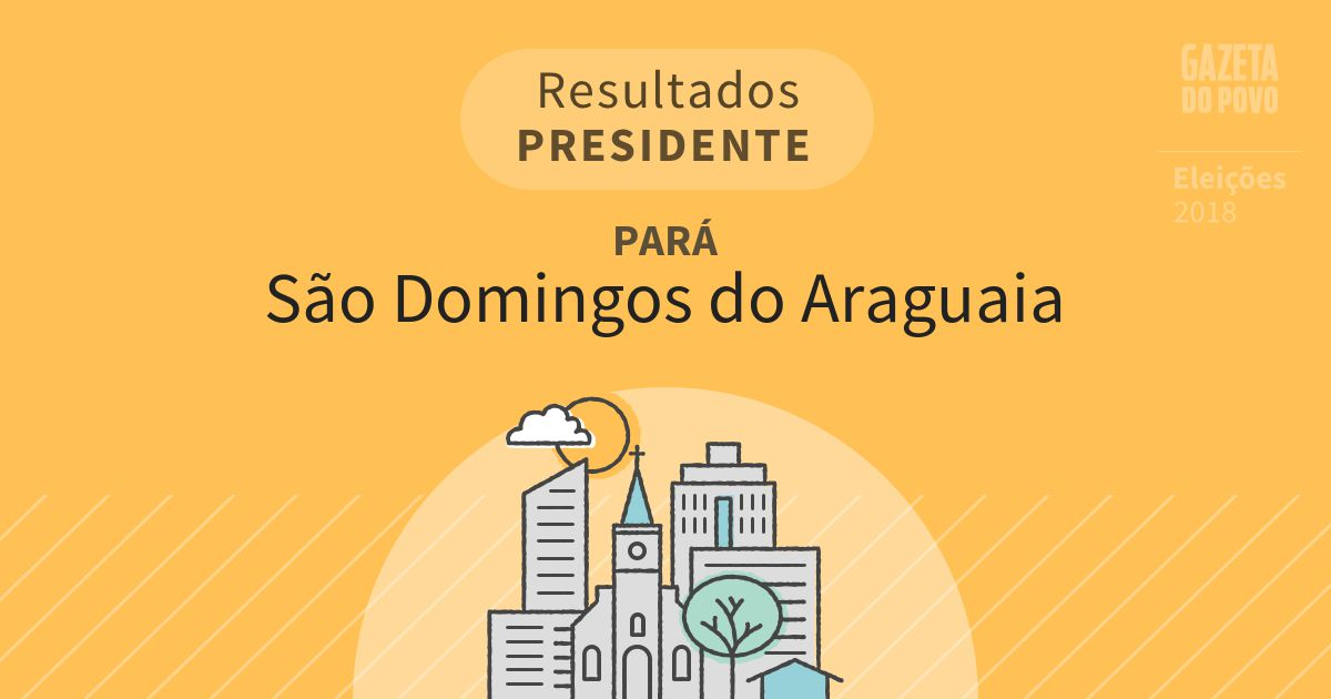 Resultados para Presidente no Pará em São Domingos do Araguaia (PA)