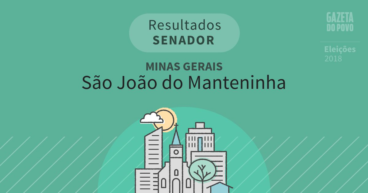 Resultados para Senador em Minas Gerais em São João do Manteninha (MG)