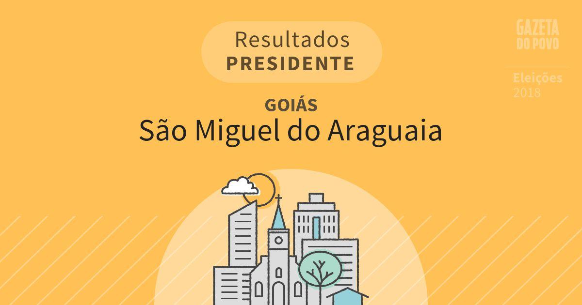 Resultados para Presidente em Goiás em São Miguel do Araguaia (GO)