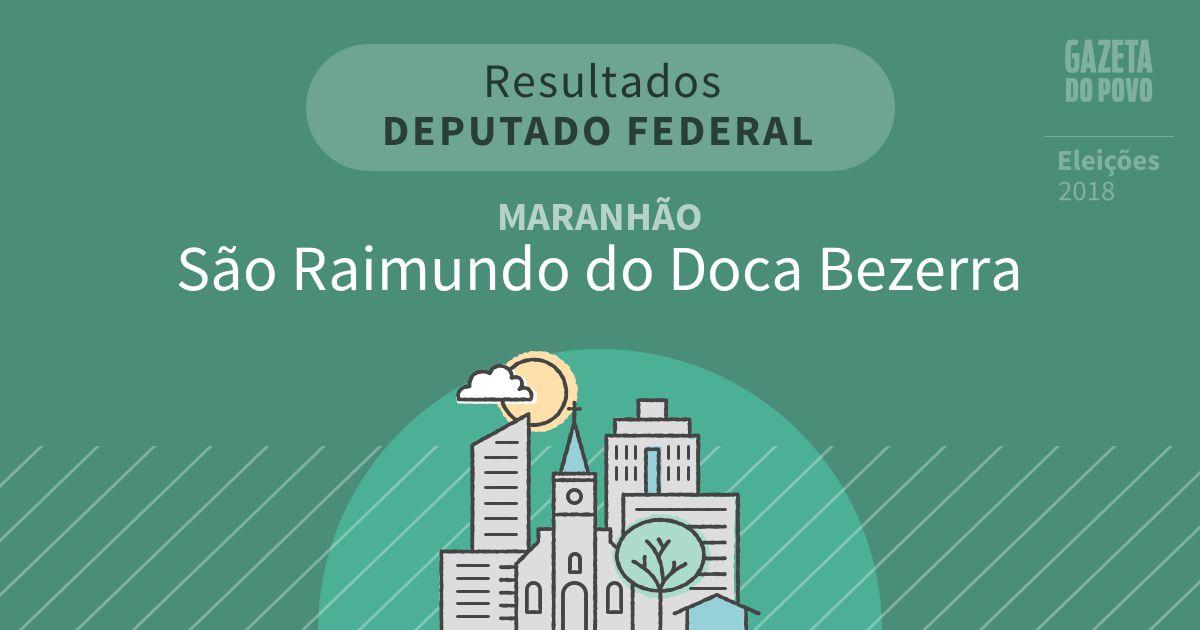 Resultados para Deputado Federal no Maranhão em São Raimundo do Doca Bezerra (MA)