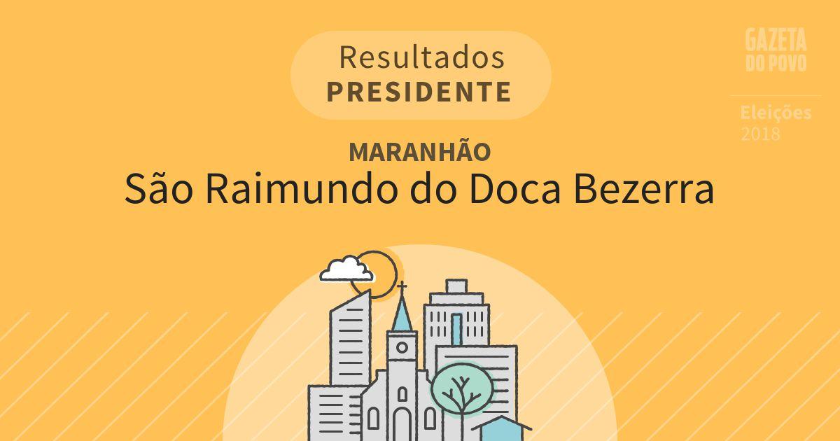 Resultados para Presidente no Maranhão em São Raimundo do Doca Bezerra (MA)