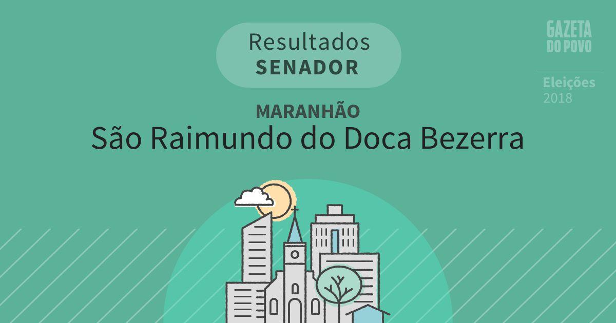 Resultados para Senador no Maranhão em São Raimundo do Doca Bezerra (MA)