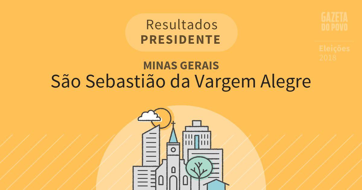 Resultados para Presidente em Minas Gerais em São Sebastião da Vargem Alegre (MG)
