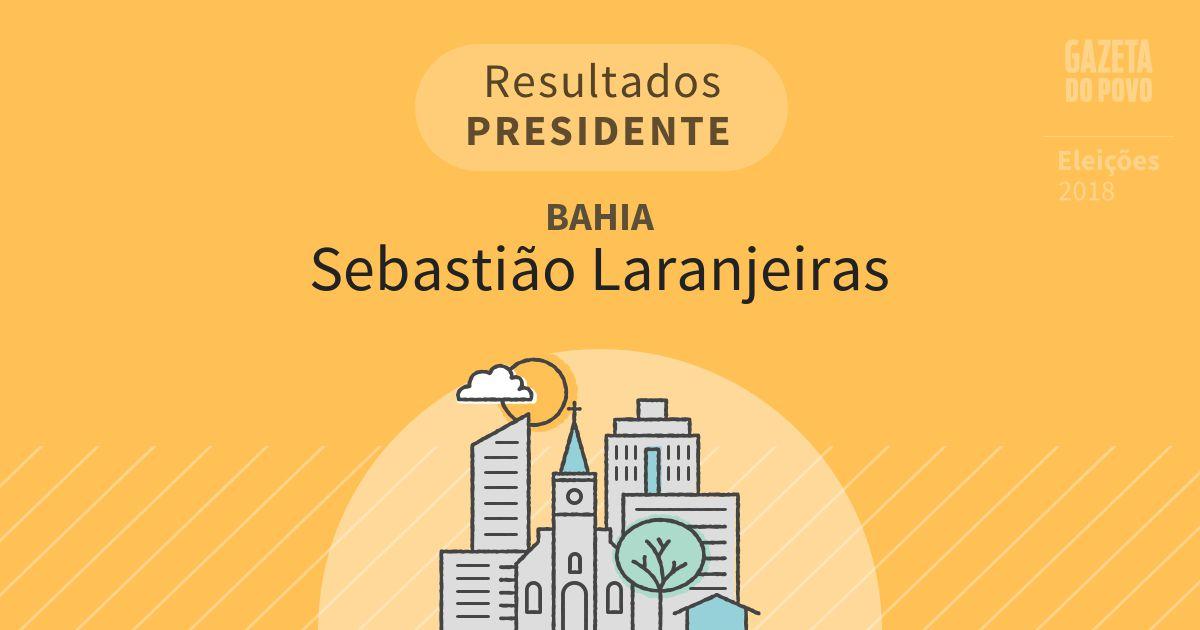 Resultados para Presidente na Bahia em Sebastião Laranjeiras (BA)