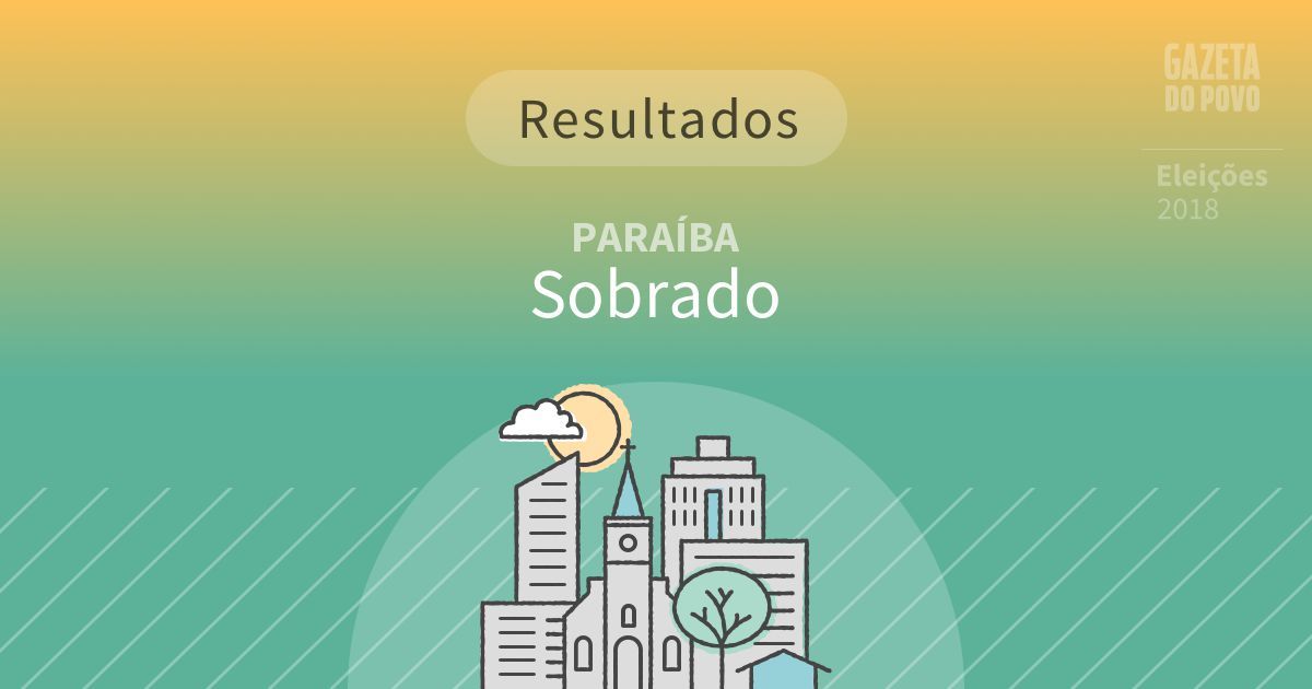 Resultados da votação em Sobrado (PB)