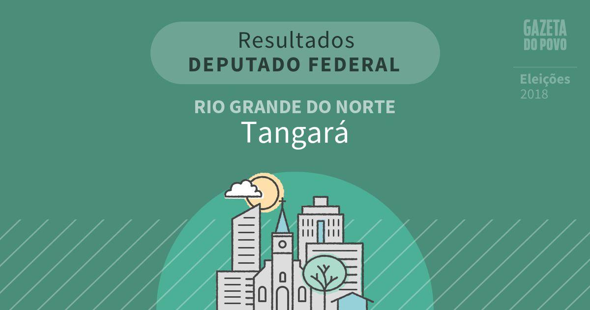 Resultados para Deputado Federal no Rio Grande do Norte em Tangará (RN)