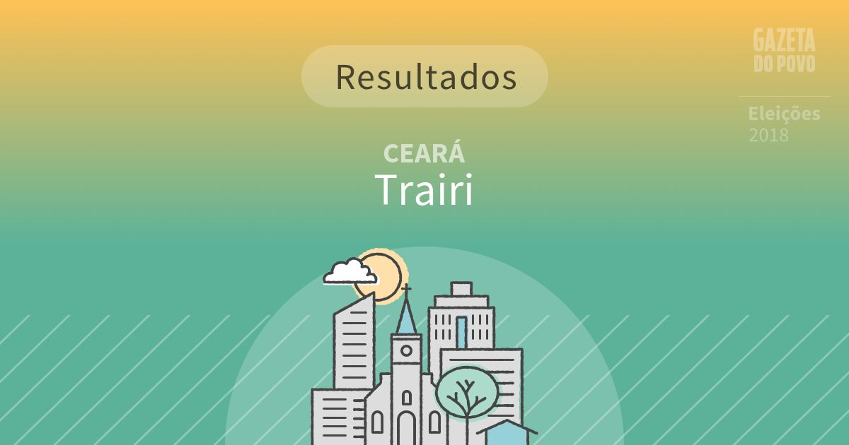 Resultados da votação em Trairi (CE)