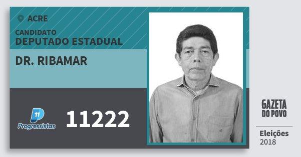 Santinho Dr. Ribamar 11222 (PP) Deputado Estadual | Acre | Eleições 2018
