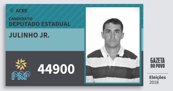 Santinho Julinho Jr. 44900 (PRP) Deputado Estadual | Acre | Eleições 2018