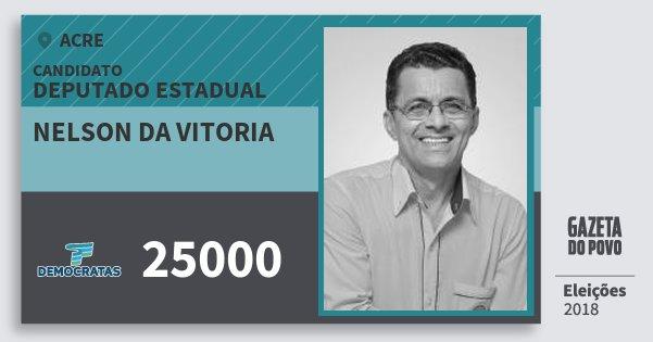 Santinho Nelson da Vitoria 25000 (DEM) Deputado Estadual | Acre | Eleições 2018