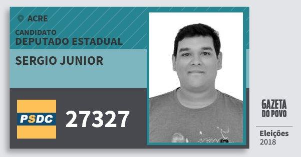 Santinho Sergio Junior 27327 (DC) Deputado Estadual | Acre | Eleições 2018