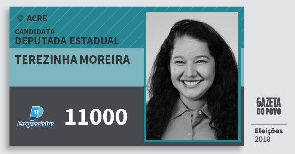 Santinho Terezinha Moreira 11000 (PP) Deputada Estadual | Acre | Eleições 2018
