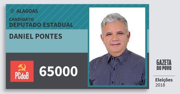 Santinho Daniel Pontes 65000 (PC do B) Deputado Estadual | Alagoas | Eleições 2018