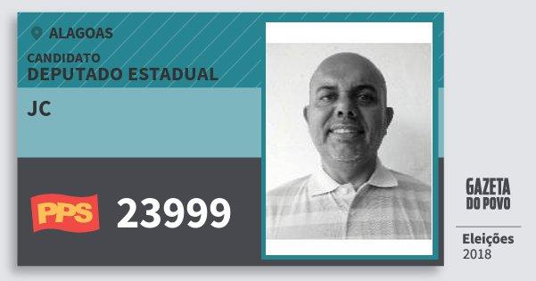 Santinho Jc 23999 (PPS) Deputado Estadual | Alagoas | Eleições 2018