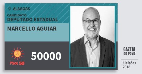 Santinho Marcello Aguiar 50000 (PSOL) Deputado Estadual | Alagoas | Eleições 2018