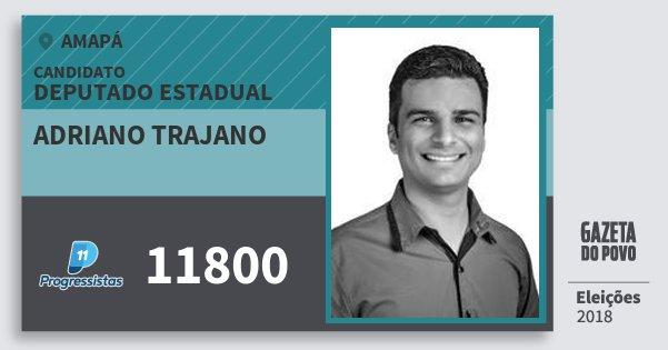 Santinho Adriano Trajano 11800 (PP) Deputado Estadual   Amapá   Eleições 2018