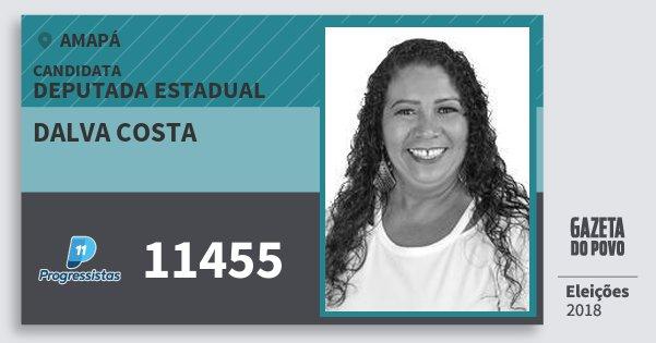 Santinho Dalva Costa 11455 (PP) Deputada Estadual | Amapá | Eleições 2018
