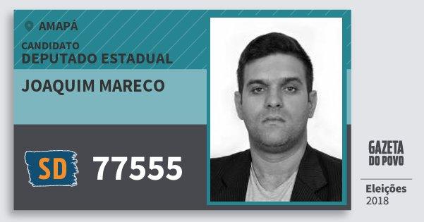 Santinho Joaquim Mareco 77555 (SOLIDARIEDADE) Deputado Estadual | Amapá | Eleições 2018