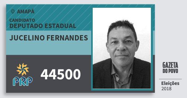 Santinho Jucelino Fernandes 44500 (PRP) Deputado Estadual | Amapá | Eleições 2018