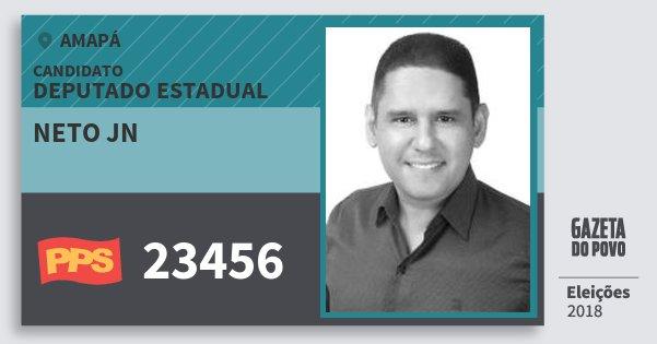 Santinho Neto Jn 23456 (PPS) Deputado Estadual | Amapá | Eleições 2018