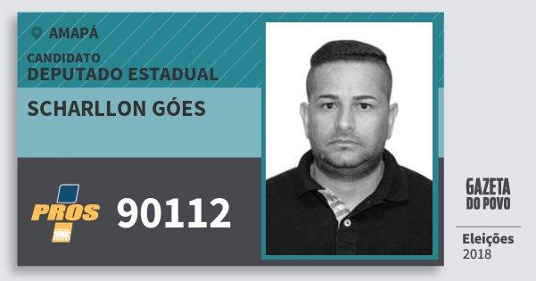 Santinho Scharllon Góes 90112 (PROS) Deputado Estadual | Amapá | Eleições 2018