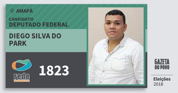 Santinho Diego Silva do Park 1823 (REDE) Deputado Federal | Amapá | Eleições 2018