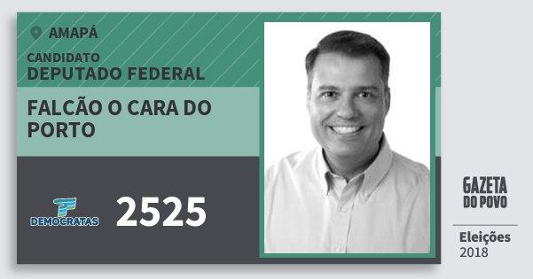 Santinho Falcão O Cara do Porto 2525 (DEM) Deputado Federal | Amapá | Eleições 2018