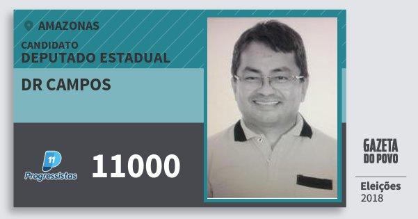 Santinho Dr Campos 11000 (PP) Deputado Estadual | Amazonas | Eleições 2018