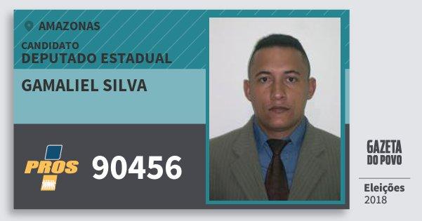 Santinho Gamaliel Silva 90456 (PROS) Deputado Estadual | Amazonas | Eleições 2018
