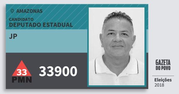 Santinho Jp 33900 (PMN) Deputado Estadual | Amazonas | Eleições 2018
