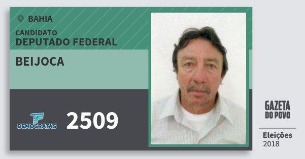 Santinho Beijoca 2509 (DEM) Deputado Federal | Bahia | Eleições 2018