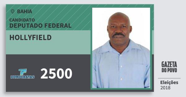 Santinho Hollyfield 2500 (DEM) Deputado Federal | Bahia | Eleições 2018