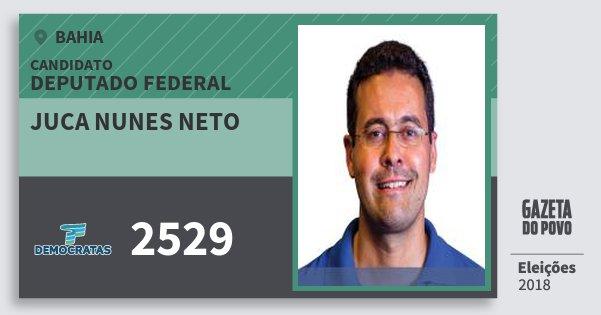 Santinho Juca Nunes Neto 2529 (DEM) Deputado Federal | Bahia | Eleições 2018