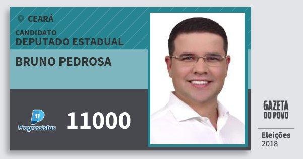 Santinho Bruno Pedrosa 11000 (PP) Deputado Estadual | Ceará | Eleições 2018
