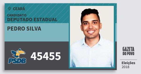 Santinho Pedro Silva 45455 (PSDB) Deputado Estadual | Ceará | Eleições 2018