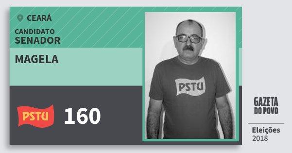 Santinho Magela 160 (PSTU) Senador | Ceará | Eleições 2018