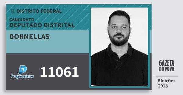 Santinho Dornellas 11061 (PP) Deputado Distrital | Distrito Federal | Eleições 2018