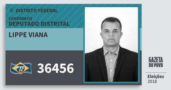 Santinho Lippe Viana 36456 (PTC) Deputado Distrital | Distrito Federal | Eleições 2018