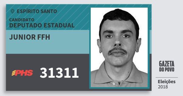 Santinho Junior Ffh 31311 (PHS) Deputado Estadual | Espírito Santo | Eleições 2018