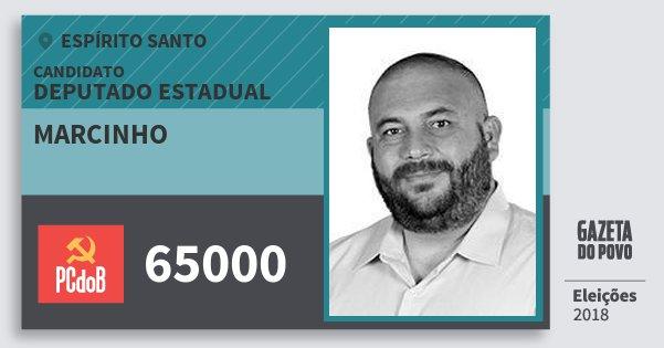 Santinho Marcinho 65000 (PC do B) Deputado Estadual | Espírito Santo | Eleições 2018
