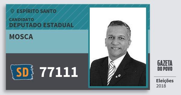 Santinho Mosca 77111 (SOLIDARIEDADE) Deputado Estadual   Espírito Santo   Eleições 2018