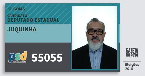 Santinho Juquinha 55055 (PSD) Deputado Estadual | Goiás | Eleições 2018