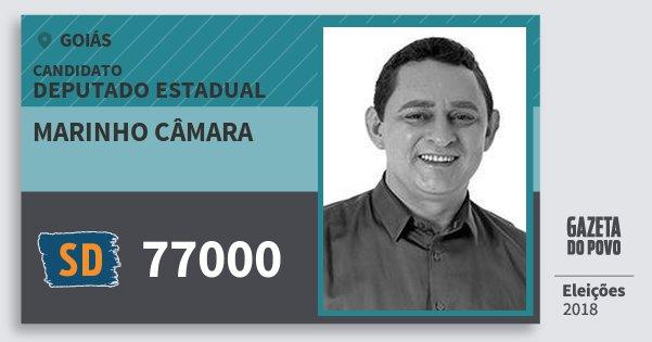 Santinho Marinho Câmara 77000 (SOLIDARIEDADE) Deputado Estadual | Goiás | Eleições 2018