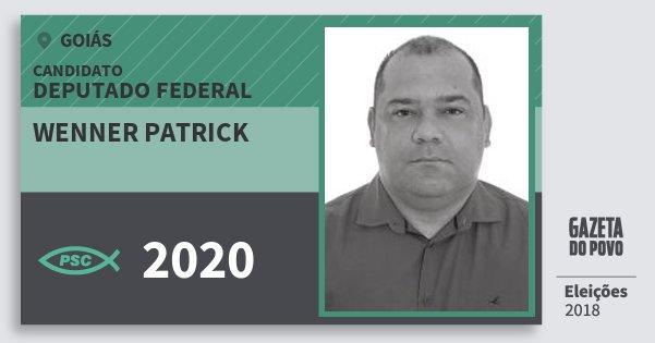 Santinho Wenner Patrick 2020 (PSC) Deputado Federal | Goiás | Eleições 2018
