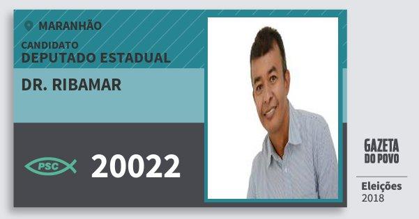Santinho Dr. Ribamar 20022 (PSC) Deputado Estadual | Maranhão | Eleições 2018